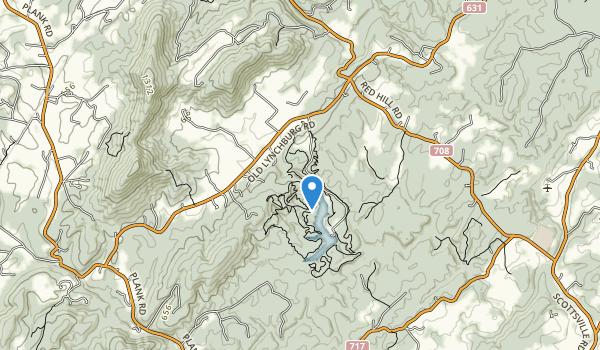 trail locations for Walnut Creek Park