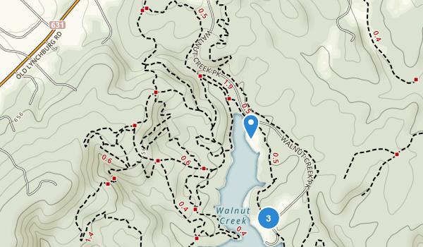 Walnut Creek Park Map