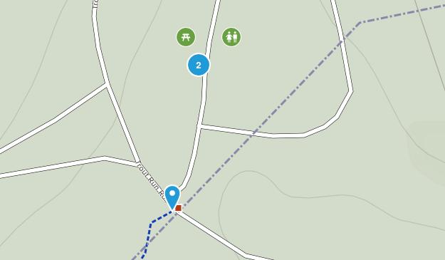 Wolf Gap Recreation Area Map