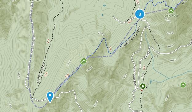 Wolf Gap Erholungsgebiet Map