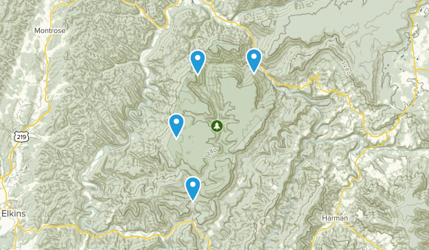 Otter Creek Wildlife Management Area Map