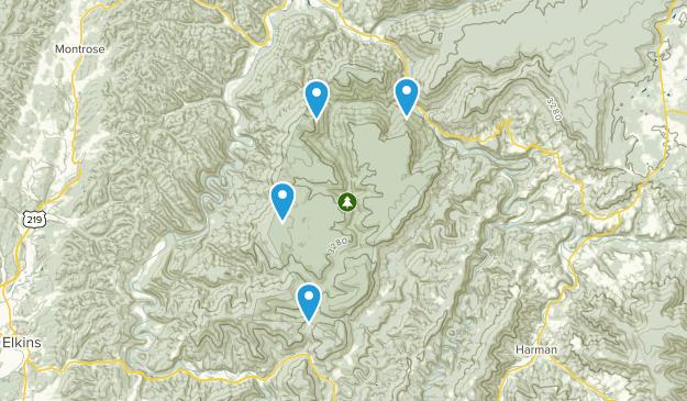 Área de Manejo de Vida Silvestre Otter Creek Map
