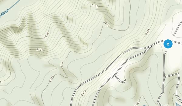 Pipestem State Park Map