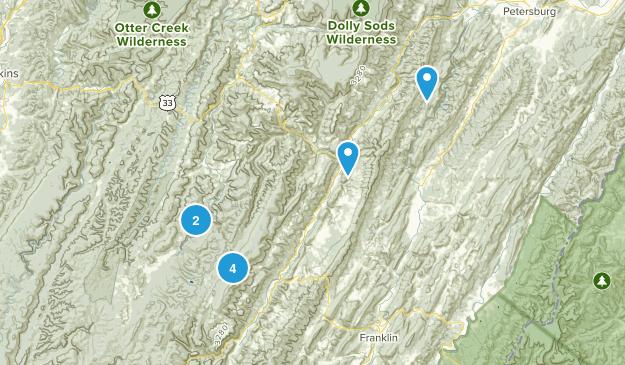 Spruce Knob-Seneca Rocks National Recreation Area Map