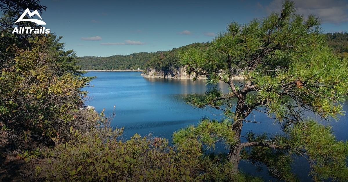 Best Trails in Summersville Lake State Wildlife Area ...