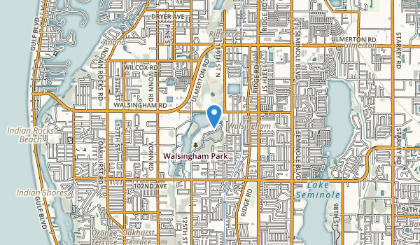 Walsingham County Park Map