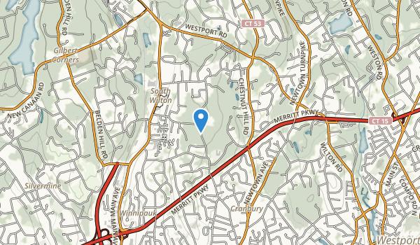 trail locations for Cranbury Park