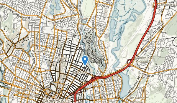 East Rock Park Map