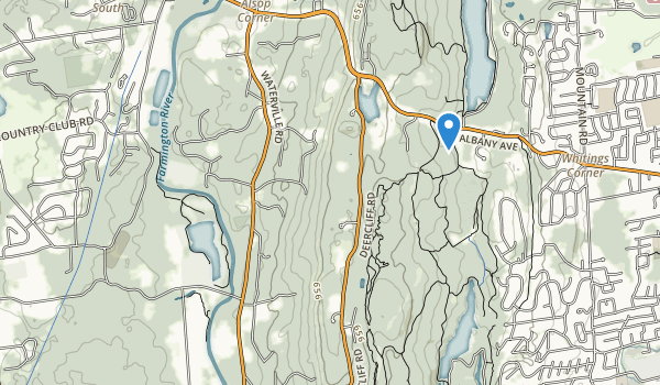 Fisher Meadows Recreation Area Map
