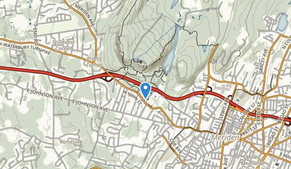 Hubbard Park Map