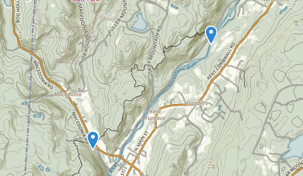 Pond Mountain Natural Area Map