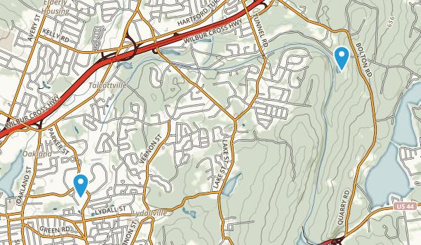 Valley Falls Park Map