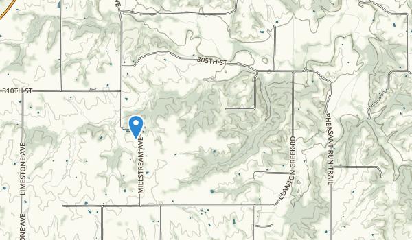 Clanton Creek Recreation Area Map
