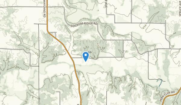 Sockum Ridge County Park Map