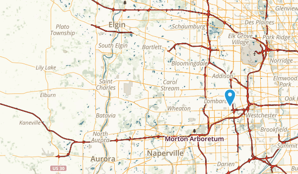 Campton County Forest Preserve Map