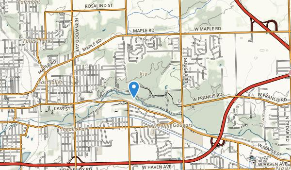 Pilcher Park Map