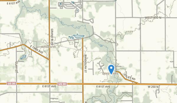 Deep River County Park Map