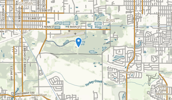 Oak Ridge Prairie County Park Map