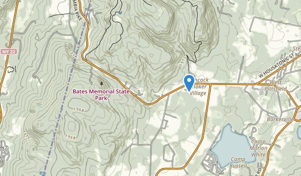 Bates Memorial State Park Map