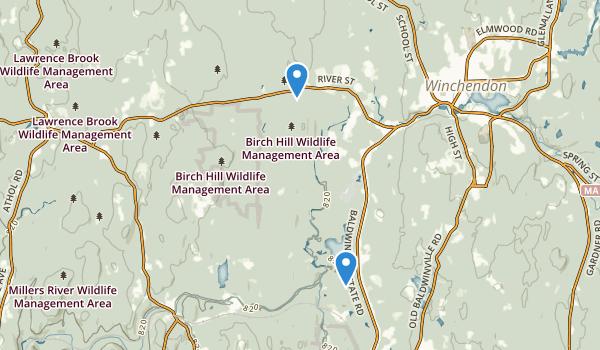 Birch Hill State Wildlife Management Area Map