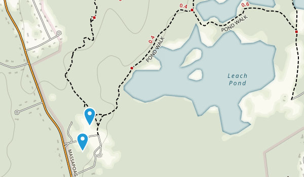 Borderland State Park Map
