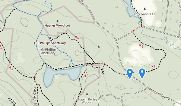 Boxford Wildlife Sanctuary Map