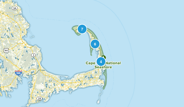 Cape Cod National Seashore Map