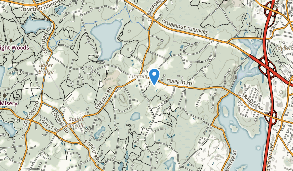 trail locations for Pierce Park
