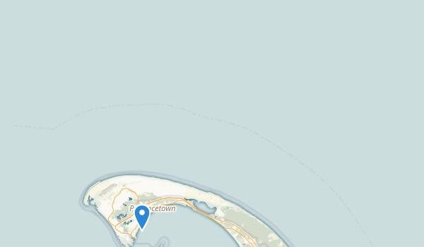 trail locations for Pilgrim Monument