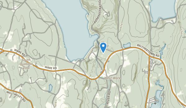 trail locations for Quabbin Quabbin Park