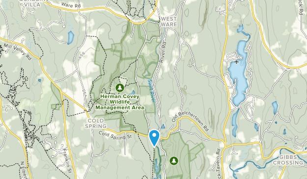 Swift River Wildlife Management Area Map