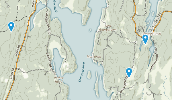 Josephine Newman Sanctuary Map