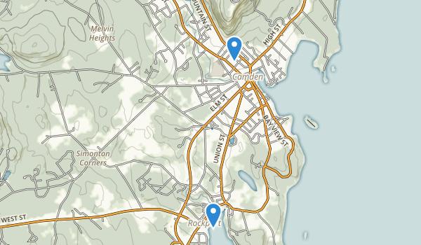 Merryspring Park Map