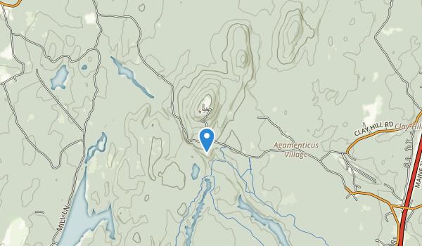 Mount Agamenticus Park Map