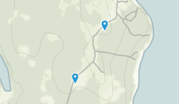 Petit Manan National Wildlife Refuge Map