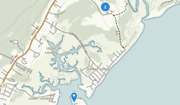 The Wells National Estuarine Research Reserve Map