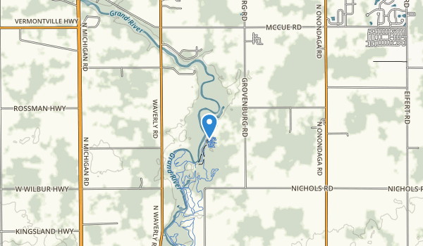 Grand River County Park Map
