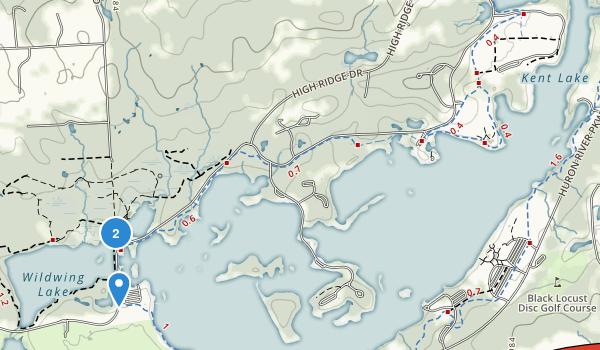 Kensington Metropolitan Park Map