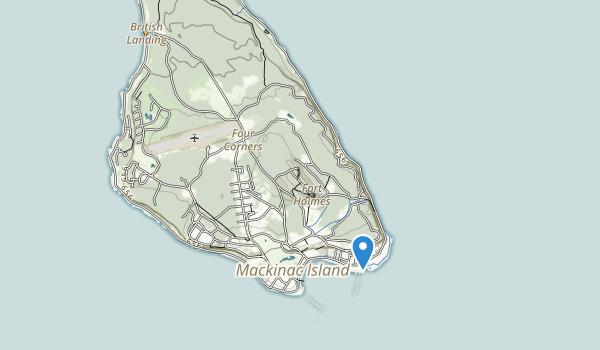 Mackinac Island State Park Map
