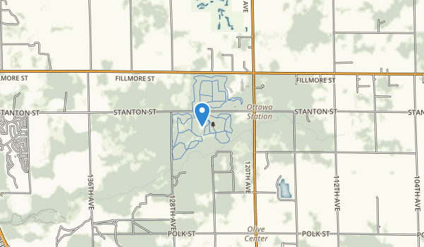 trail locations for Pigeon Creek Park