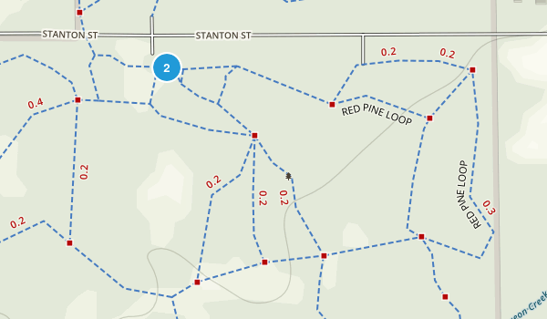 Pigeon Creek Park Map