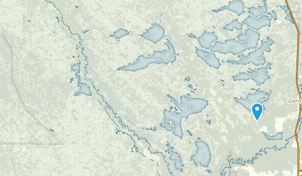 Seney National Wildlife Refuge Map