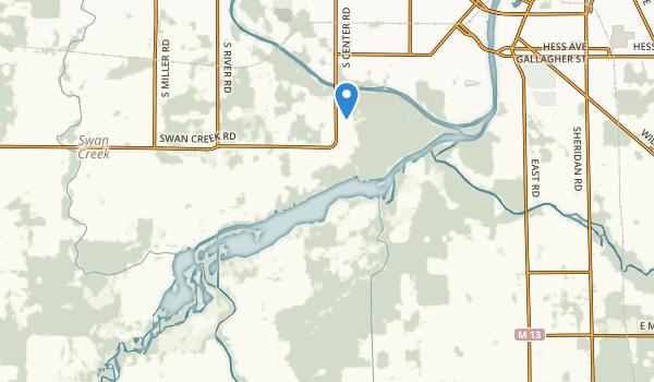 Shiawassee National Wildlife Refuge Map