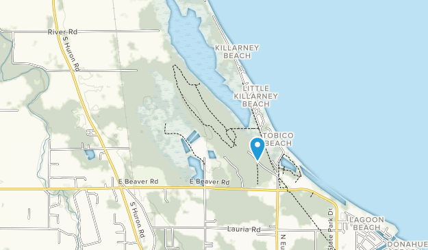 Tobico Marsh State Game Area Map