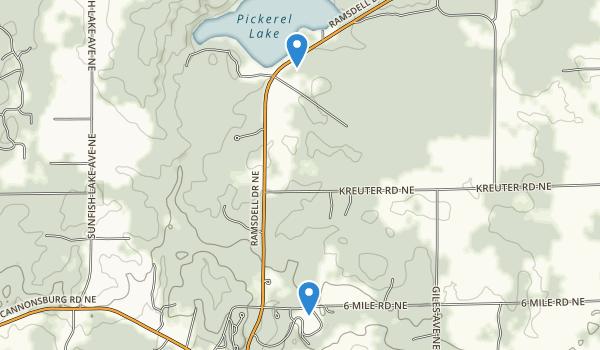 Warren Townsend Park Map