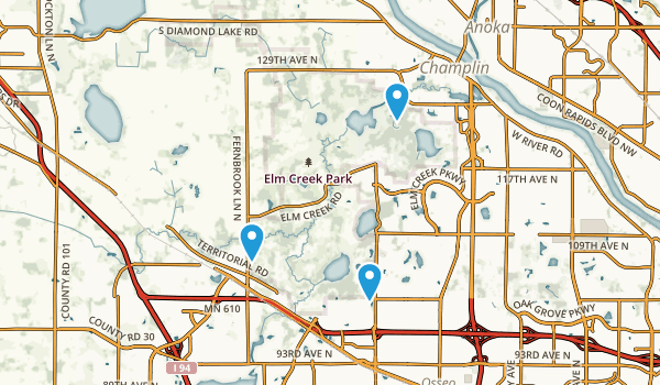 Elm Creek Park Map