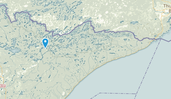 Kadunce River State Park Map