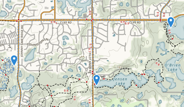 Lebanon Hills Regional Park Map