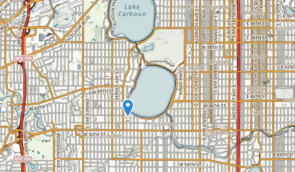 Lyndale Park Map