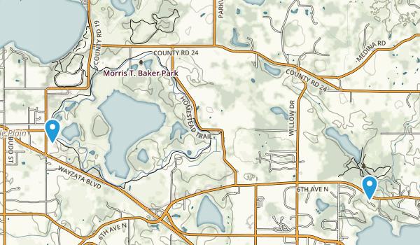 Morris T Baker County Park Map